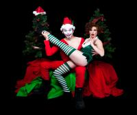 Super happy funtime burlesque xmas special gifts